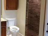 Bathroom remodeled for accessibility