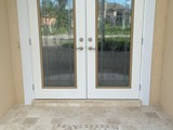Full Glass Double Entry Doors
