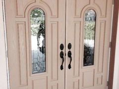 Replacement Doors Before Finish